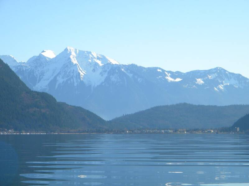 Mt.Cheam and Harrison Hot Springs